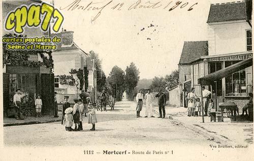 Mortcerf - Route de Paris n°1
