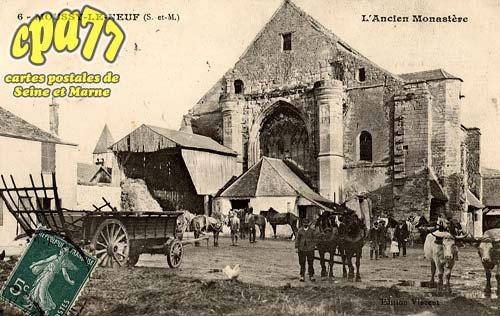 Moussy Le Neuf - L'Ancien Monastère