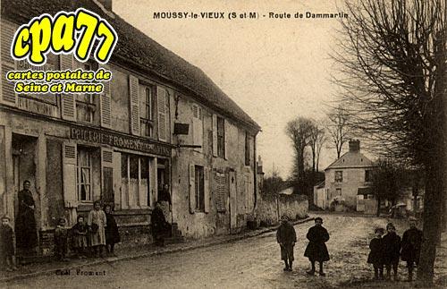 Moussy Le Vieux - Route de Dammartin