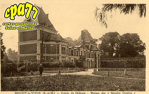 Moussy Le Vieux - Entrée du Château