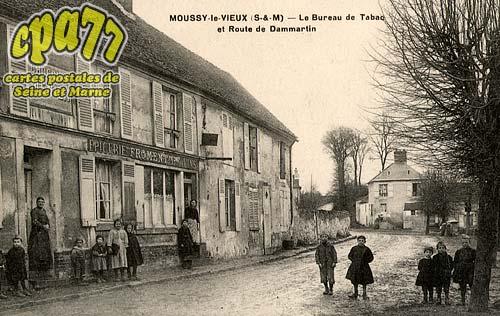 Moussy Le Vieux - Le Bureau de Tabac et Route de Dammartin
