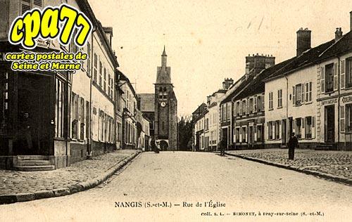 Nangis - Rue de l'Eglise