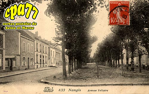 Nangis - Avenue Voltaire