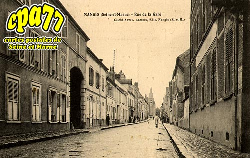 Nangis - Rue de la Gare