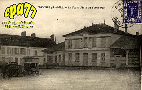 Nangis - La Poste, Place du Commerce