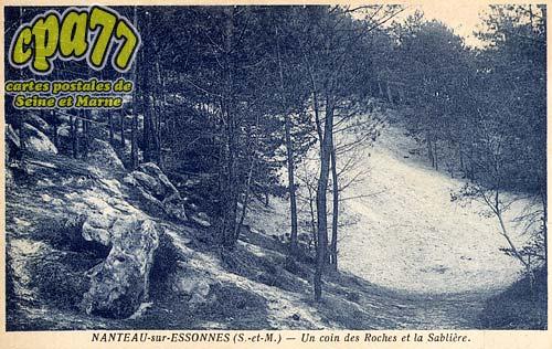 Nanteau Sur Essonne - Un coin des Roches et la Sablière