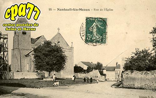 Nanteuil Lès Meaux - Rue de l'Eglise