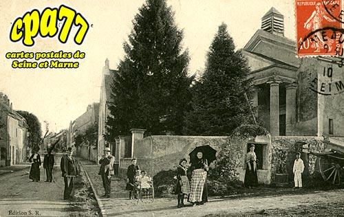 Nanteuil Lès Meaux - Le Temple et la Grande Rue