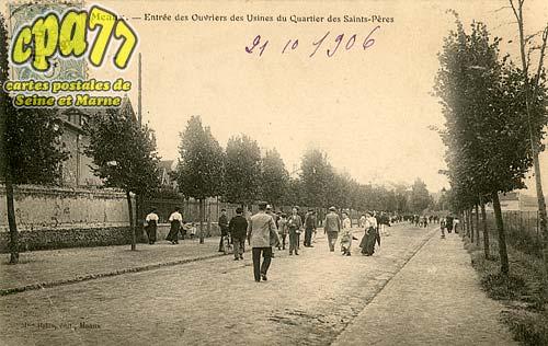 Nanteuil Lès Meaux - Entrée des Ouvriers des Usines du Quartier des Saints-Pères