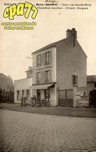 Nanteuil Lès Meaux - Maison Léger - Tabac des Saints-Pères - Pension de Famille - Chambres meublées - Billard, Bosquets