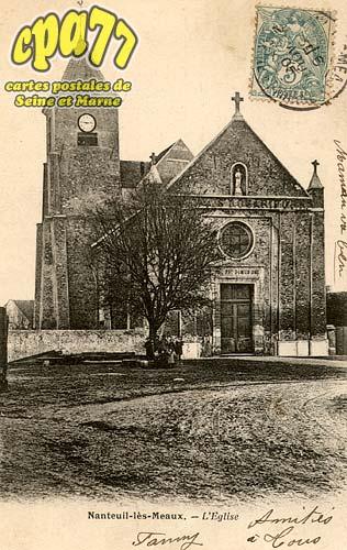Nanteuil Lès Meaux - L'église
