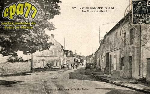 Nanteuil Lès Meaux - La Rue Galliéni