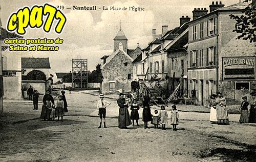 Nanteuil Lès Meaux - La Place de l'Eglise