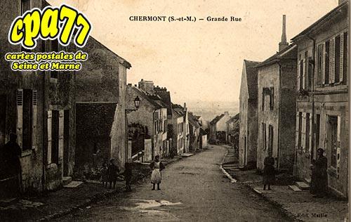 Nanteuil Lès Meaux - Grande Rue à Chermont