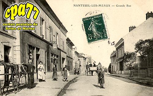 Nanteuil Lès Meaux - Grande Rue