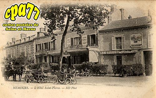 Nemours - L'Hôtel Saint-Pierre