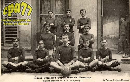 Nemours - Fête Fédérale des Amicales - 9 Juin 1912 - Mr Dumesnil, Député prononçant son discours