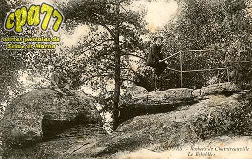 Nemours - Rochers de Chaintréauville - Le Belvédère