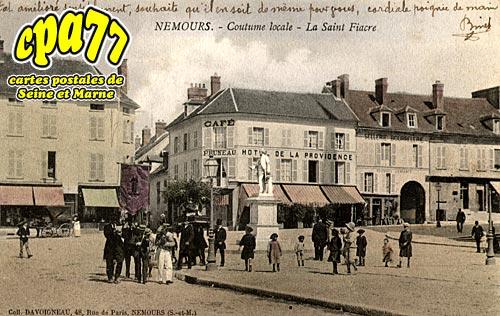 Nemours - Coutume locale - La saint-Fiacre