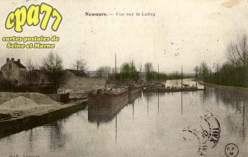 Nemours - Vue sur le Loing