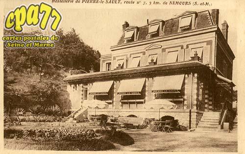 Nemours - Hostellerie de Pierre-le-Sault, route n°7, 3km de Nemours (S.-et-M.)