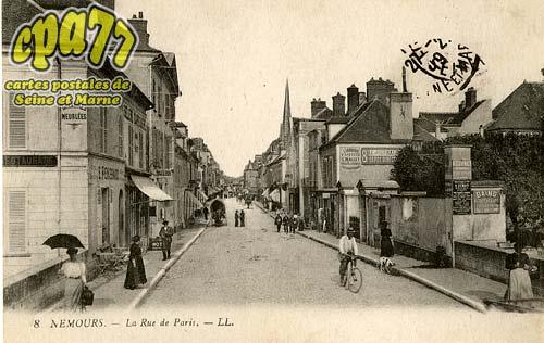 Nemours - La Rue de Paris