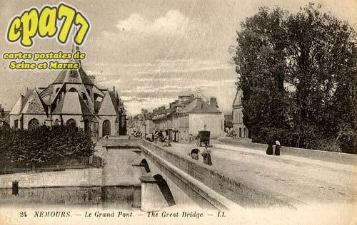Nemours - Le Grand Pont - The Great Bridge