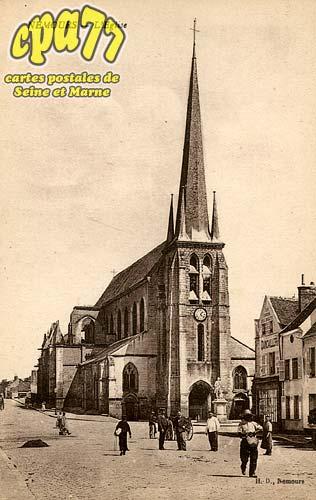 Nemours - L'Eglise