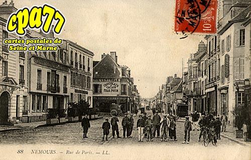 Nemours - Rue de Paris