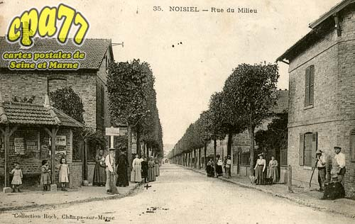 Noisiel - Rue de Milieu