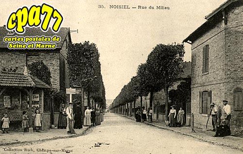 Noisiel - Rue du Milieu
