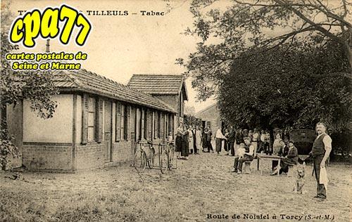 Noisiel - Route de Noisiel à Torcy - Terrasse des Tilleuls - Tabac