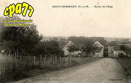 Noisy Rudignon - Route de Flagy