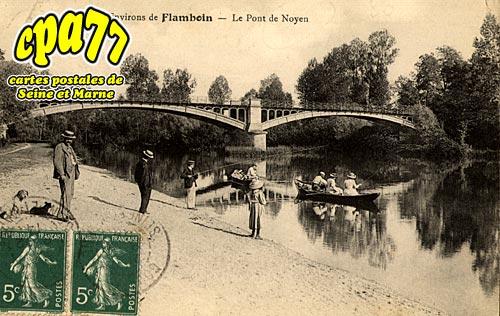 Noyen Sur Seine - Le Pont de Noyen