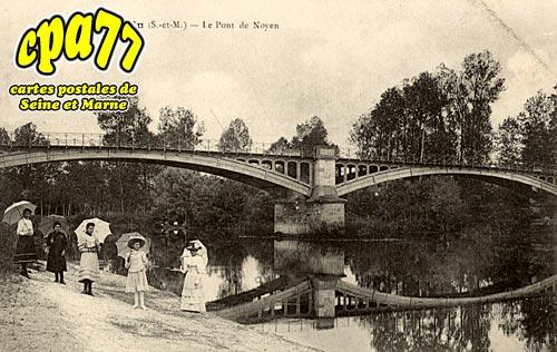 Noyen Sur Seine - Environs de Nemours - Puiselet - Les Carrières
