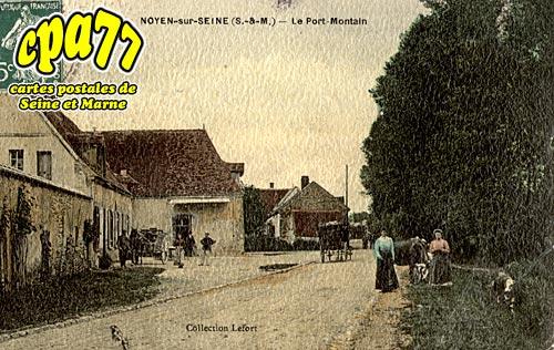 Noyen Sur Seine - Le Port-Montain
