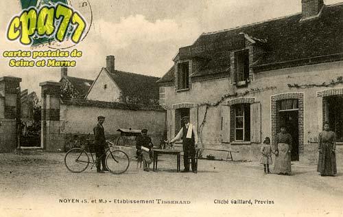 Noyen Sur Seine - Etablissement Tisserand