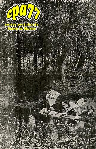 Ocquerre - L'Ourcq à Ocquerre