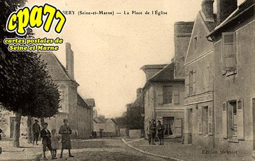 Oissery - La Place de l'Eglise