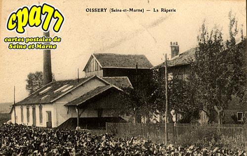 Oissery - La Râperie