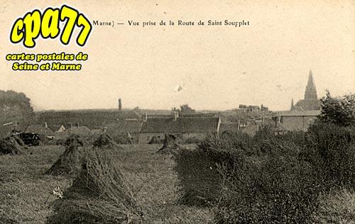 Oissery - Vue Prise de la Route de Saint-Soupplets
