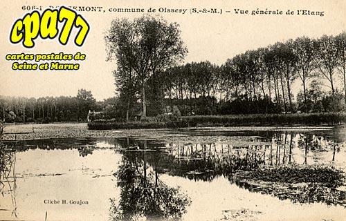 Oissery - Rougemont - Vue générale de l'Etang