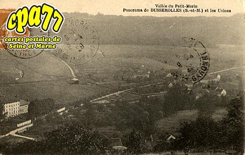 Orly Sur Morin - Panorama de Busserolles et les Usines (en l'état)