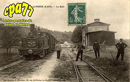 Orly Sur Morin - La Gare