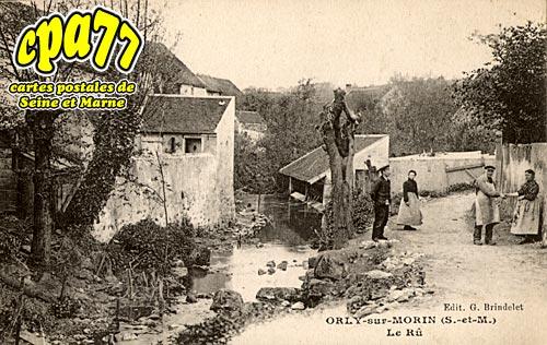 Orly Sur Morin - Le Rû