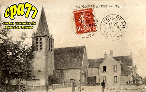 Ozouer Le Repos - L'Eglise