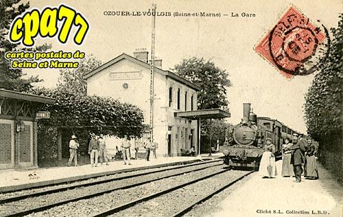 Ozouer Le Voulgis - La Gare