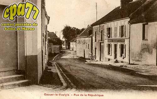 Ozouer Le Voulgis - Rue de la République