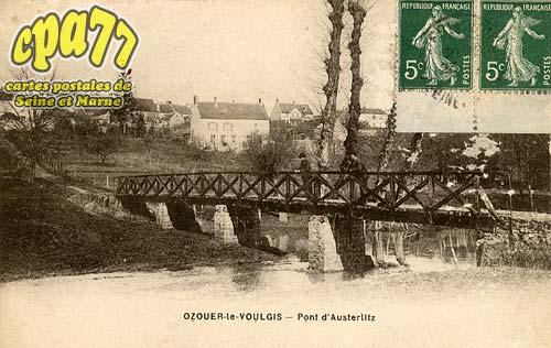 Ozouer Le Voulgis - Pont d'Austerlitz