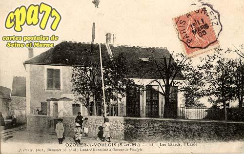 Ozouer Le Voulgis - Les Etards, l'Ecole
